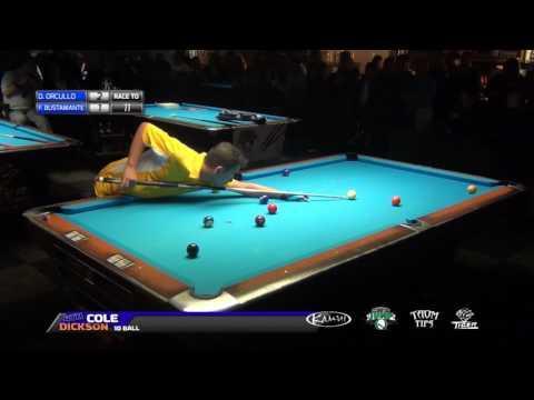 #19 • FINAL MATCH •Dennis ORCOLLO vs Francisco BUSTAMANTE • 2016 Cole Dickson 10 Ball