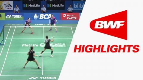 BCA Indonesia Open 2017 | Badminton SF – Highlights