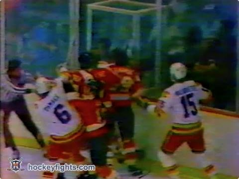 Jack McIlhargey vs Lanny McDonald Feb 19, 1980