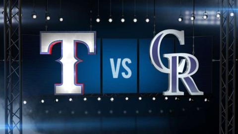 7/21/15: Choo hits for the cycle in win vs. Rockies