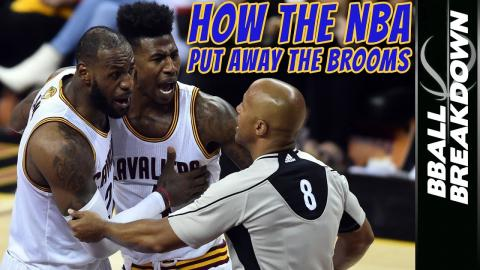 2017 NBA Finals Game 4: How The NBA Put Away The Brooms
