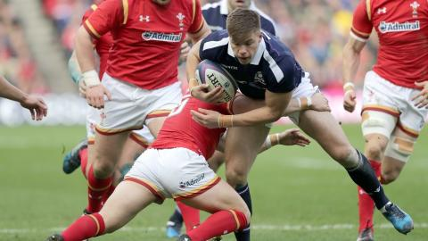 Hogg sparks a brilliant Scottish counter-attack! | RBS 6 Nations