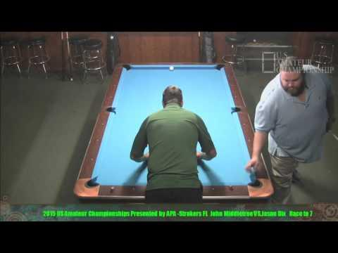 2015 US Amateur Championship John Middletree VS  Jason Dix