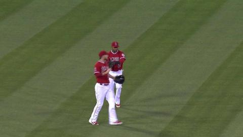 OAK@LAA: Street induces popup to save 1-0 win