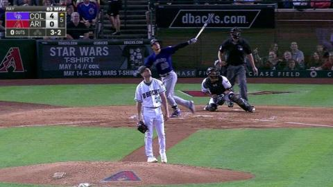 COL@ARI: Arenado extends the lead with a solo homer