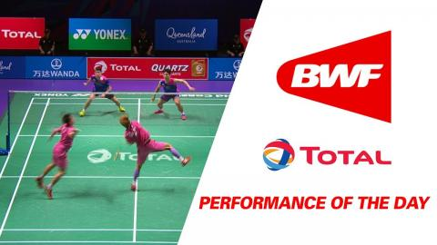 Performance Of The Day | Badminton Day 5 Grp 1 QF-KOR vs TPE - TOTAL BWF Sudirman Cup 2017