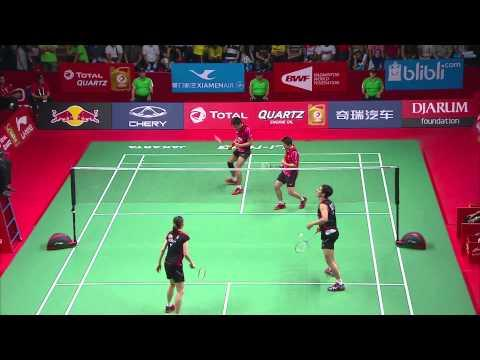 TOTAL BWF World Championships 2015 | Badminton Day 5 QF – Highlights 1