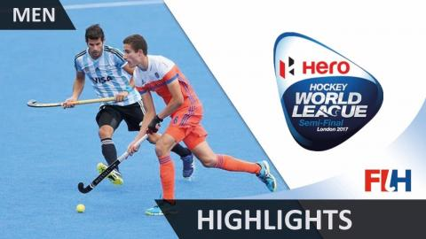 Hero Hockey World League London Highlights