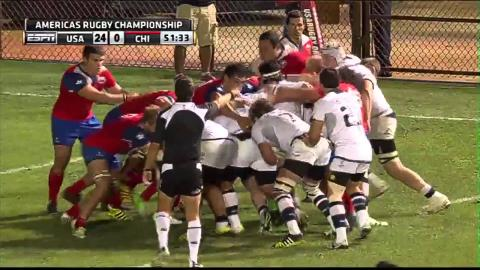 Americas Rugby Championship 2016: USA vs Chile Highlights