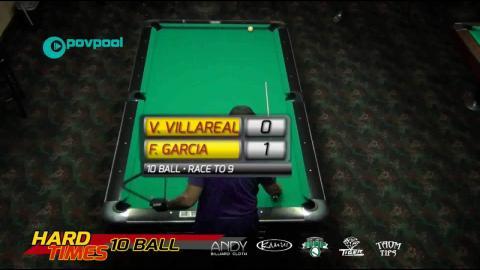 #1 - Fach GARCIA vs Vivian VILLAREAL •2016 Hard Times 10-Ball