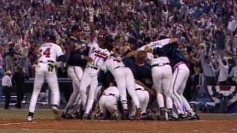 1992 NLCS Gm7: Skip Caray call of Cabrera's walk-off
