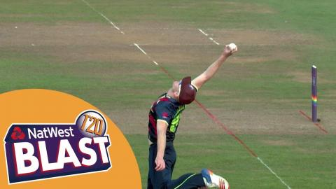 Sublime One-Handed Catch For Kent As They Win Against Somerset - NatWest T20 Blast 2017