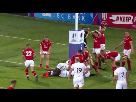 U20 Highlights: England show strong form against Wales