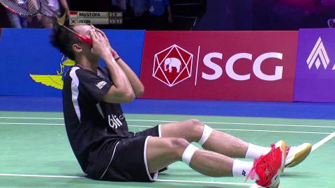 SCG Thailand Open 2015 | Badminton SF – Highlights
