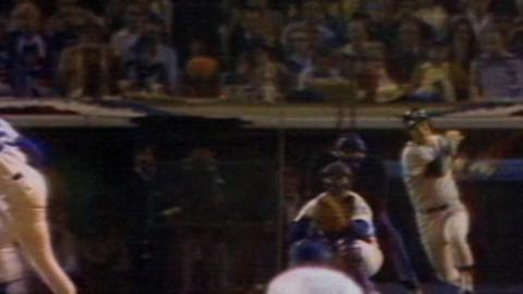 WS1978 Gm6: Dent's RBI single extends Yankees' lead