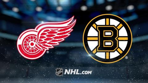Marchand, Bergeron power Bruins past Red Wings, 3-1