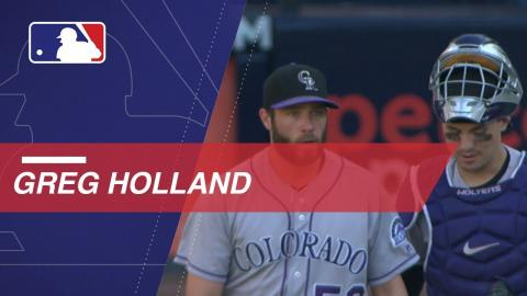 Holland earns NL Comeback Player of Year Award