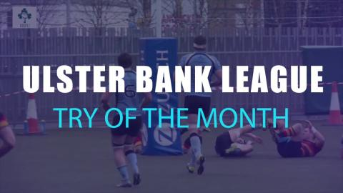 Irish Rugby TV: #UBLTry Of The Month Competition