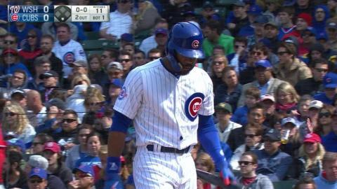 WSH@CHC: Gonzalez strikes out Heyward in the 1st