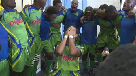 INCREDIBLE PASSION - pre-match rugby ritual!