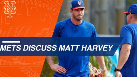 Harvey, Mets believe the pitcher can return to form