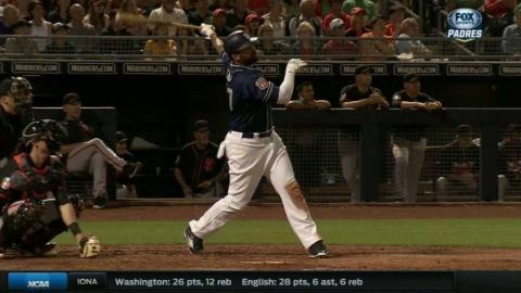 SF@SD: Kemp hits a solo home run to right-center