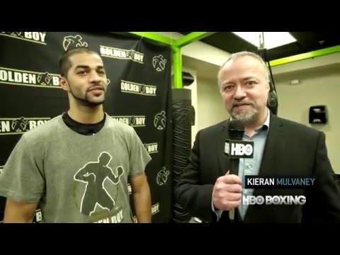 HBO Boxing News: Sadam Ali Interview