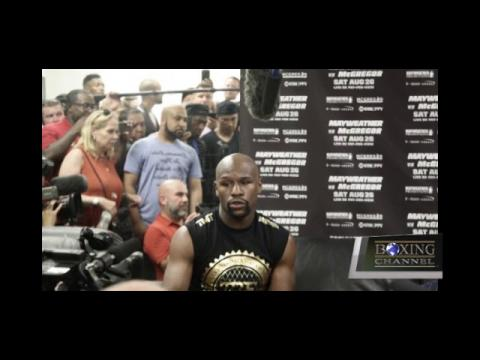 Floyd Mayweather Media Host To Conor Fight