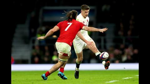 England show a kicking masterclass to close out the game! | NatWest 6 Nations