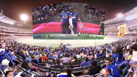 360: Join the Sri Lankan fans at the MCG