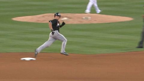 MIA@SD: Realmuto legs out a triple on deep drive