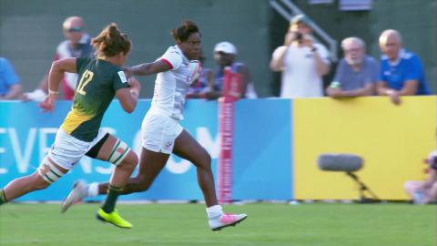 Seven sizzling tries from the Dubai Sevens