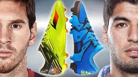 Messi VS Suarez - Boot Battle: adidas Messi15 vs. X15 - Test & Review
