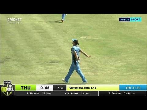 Sydney Thunder v Adelaide Strikers, WBBL|03