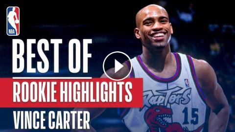 Vince Carters BEST NBA Rookie Highlights