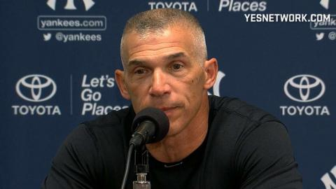 NYY@TB: Girardi on Tanaka's pitching struggles, loss