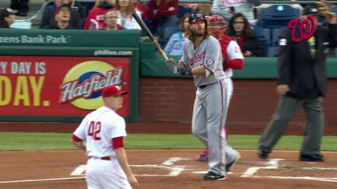 WSH@PHI: Werth clears the bases with a double in 1st