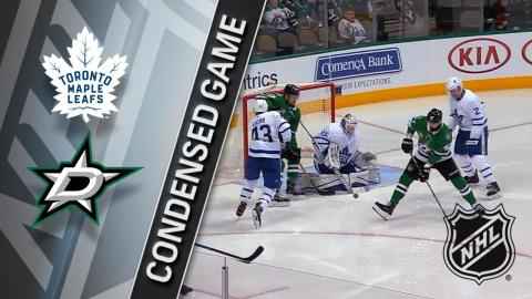 01/25/18 Condensed Game: Maple Leafs @ Stars