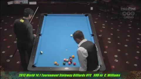 Shane Van Boening vs Charlie Williams World 14.1