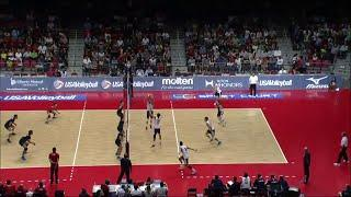 2014-08-16 - USA Volleyball Cup - Match 4 - USA - Iran