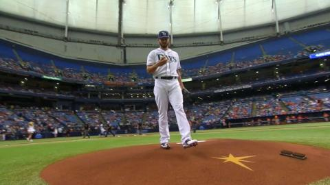 BAL@TB: Faria fans seven over six innings