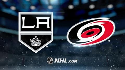 Faulk, Skinner lift Hurricanes over Kings, 7-3