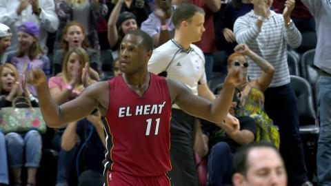 Dion Waiters Ices the Game With the Three Point Shot in Miami! | 03.08.17