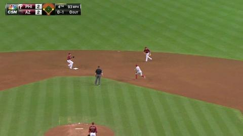 PHI@ARI: Phillies take lead on double play in the 4th