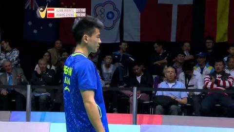 F. Alfian/M.R. Ardianto vs Huang K.X/Zheng S.W | MD F Match 5 SKYCITY New Zealand Open 2015