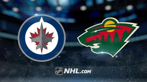 Hellebuyck, Jets hold on for victory vs. Wild