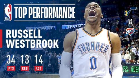 Westbrook Records Huge Triple-Double in the Win | December 6, 2017
