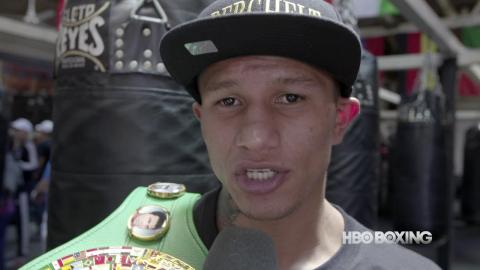 HBO Boxing News: Miguel Berchelt Interview (HBO Boxing)