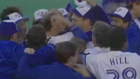 BAL@TOR: Blue Jays clinch the 1989 AL East crown