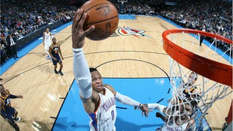 Best Dunks From Week 10 of the NBA Season (Russell Westbrook, Larry Nance Jr and More!)